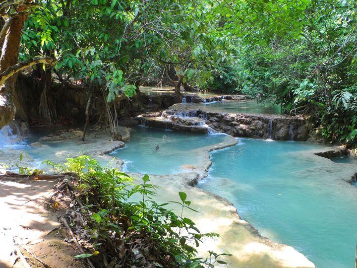 Kuang Xi Waterfall - Kerry Chapman