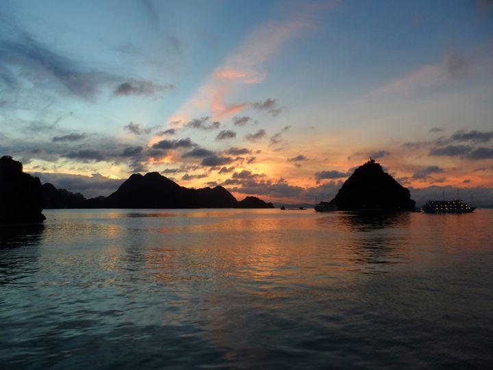 Halong Bay Sunset - Kerry Chapman