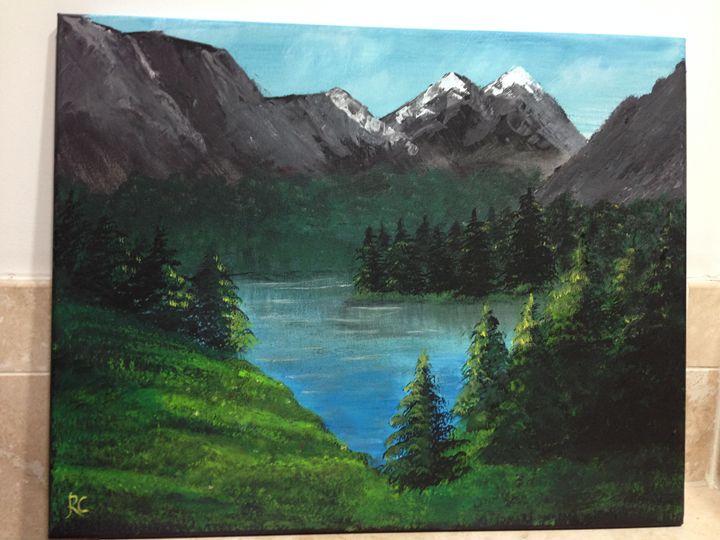 Landscape Painting - Ameya