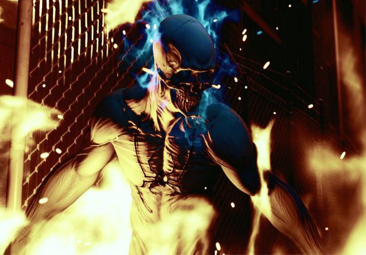 Spider-Man PS4: Ghost Spider - MK19 Photos
