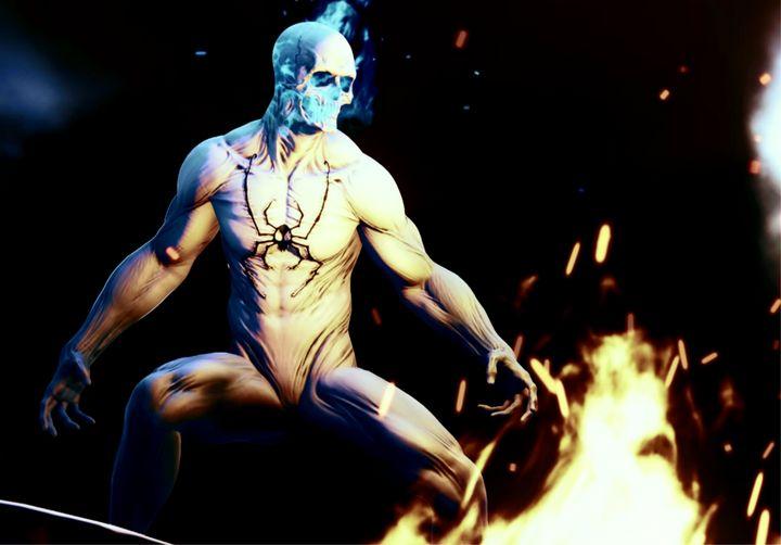 Spider-Man PS4: Ghost Spider 2 - MK19 Photos