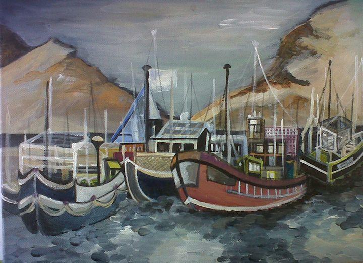 Cape Harbour - Soul work art for sale