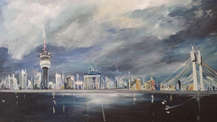 Inner city - Soul work art for sale