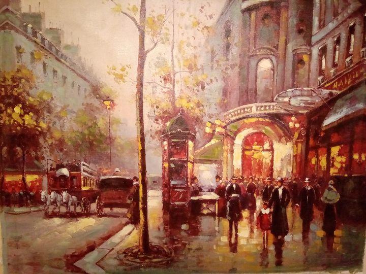 Late nineteen century city -  Sales