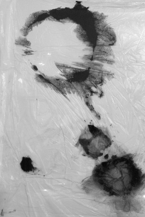 inmaterial abstract painting - Marta Plasencia