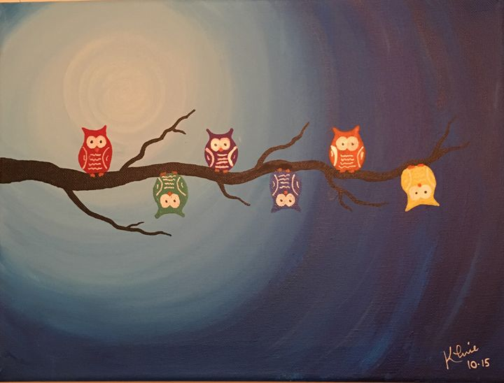 Tree Owls - Studio Kuhnie