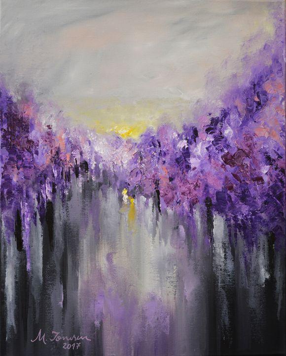 """""""Purple Rustle"""" - Mihaela Ionescu"""