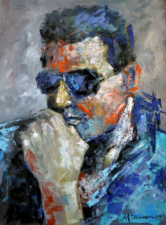 """Mysterious Man"" - Mihaela Ionescu"
