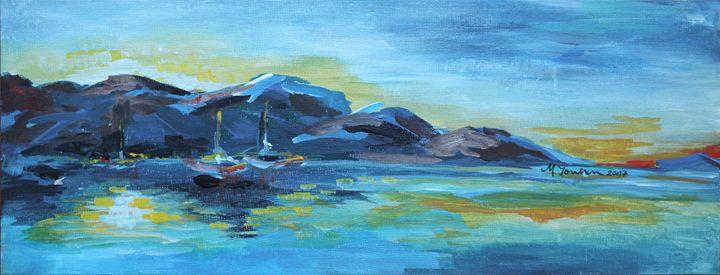 """Sailing away"" (3) - Mihaela Ionescu"