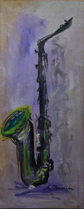 """""""Green Saxophone"""" - Mihaela Ionescu"""