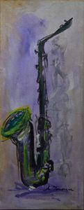"""Green Saxophone"""