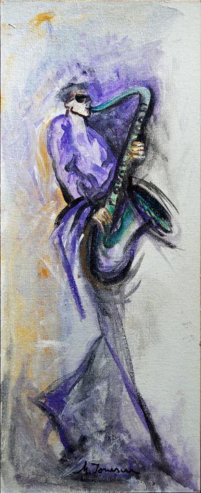 """""""Purple Jazz"""" - Mihaela Ionescu"""