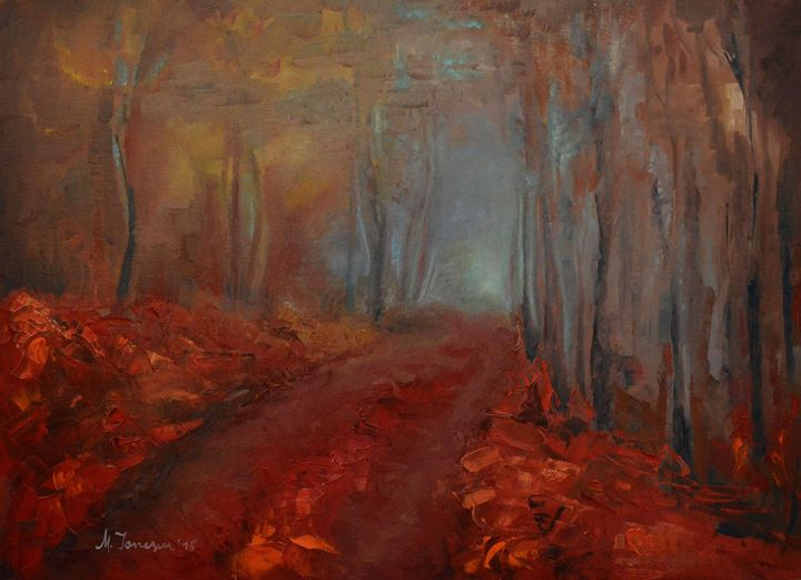 """""""Foggy Trees"""" - Mihaela Ionescu"""