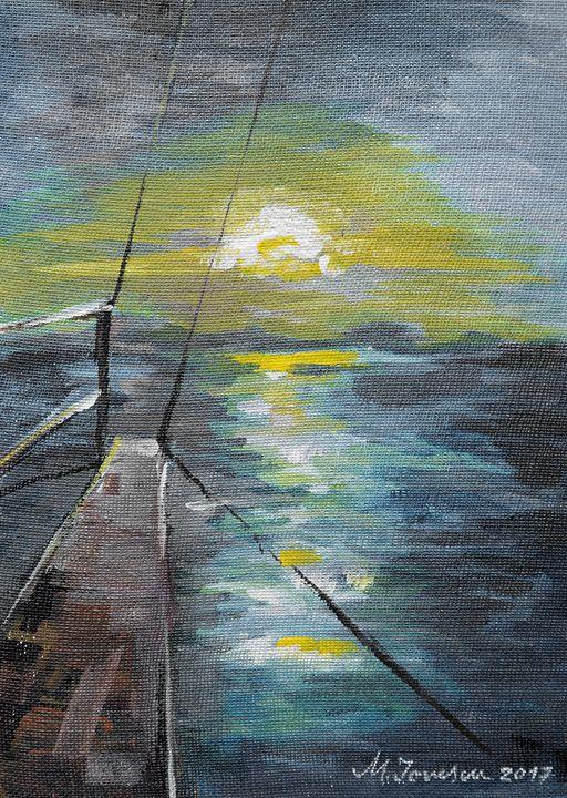 """Sailing away"" (2) - Mihaela Ionescu"
