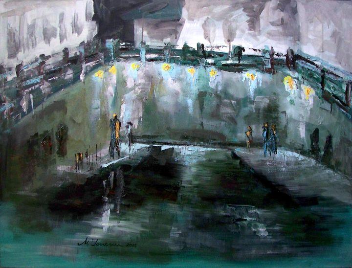 """Night in my City"" - Mihaela Ionescu"