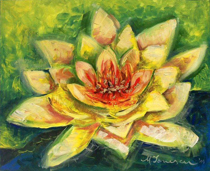 """Yellow Flower"" - Mihaela Ionescu"