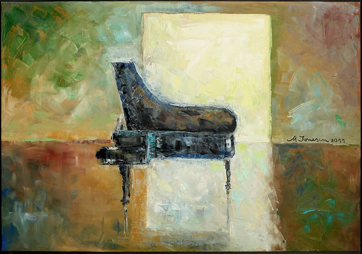 """Music Reflection"" - Mihaela Ionescu"