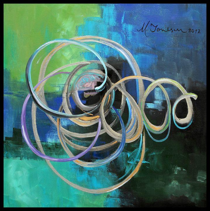 """Fusion in Blue"" - Mihaela Ionescu"