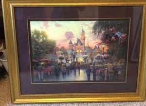 Thomas Kinkaid framed gallery proof