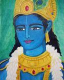 Original painting of lord krishna