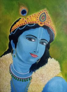Colorful Lord krishna