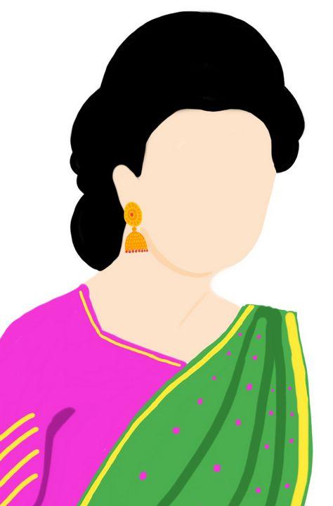 Women dig art-002 - Prakrish
