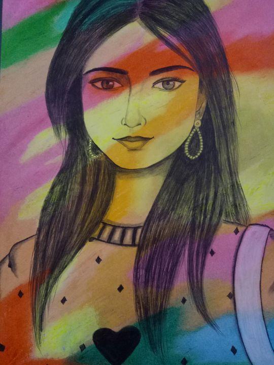 Pop art lady - Prakrish