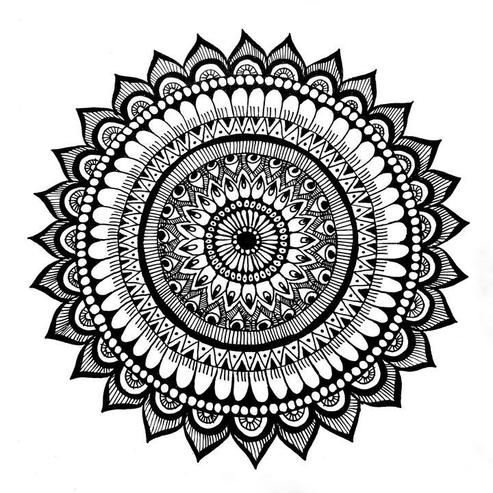 Basic Mandala - AR Arts
