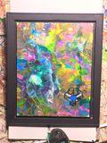 Cause framed canvas