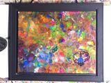 Glad framed canvas
