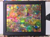 Incentive framed canvas