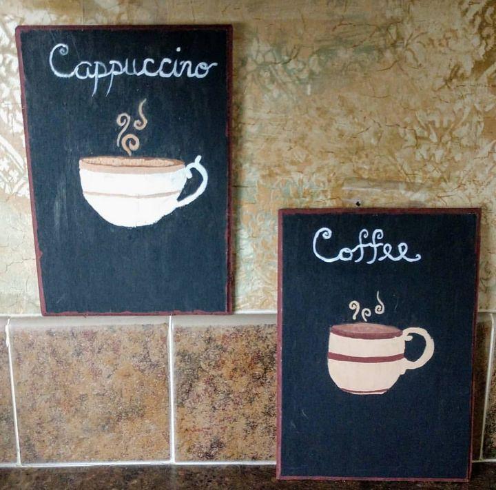 Coffee Wall Hanging Decor - Sapphire Rose