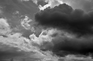 nuage gris