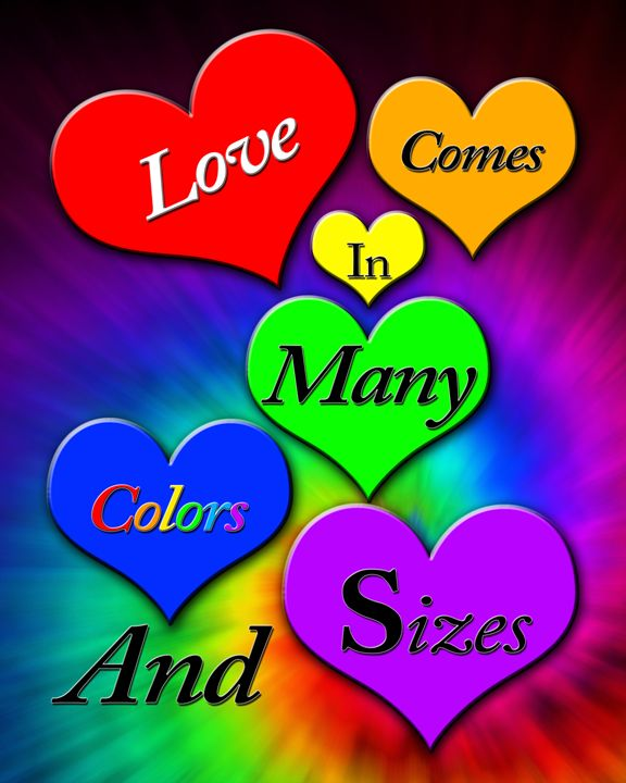 Love Comes in Many Shapes and Sizes - Alicia Counter