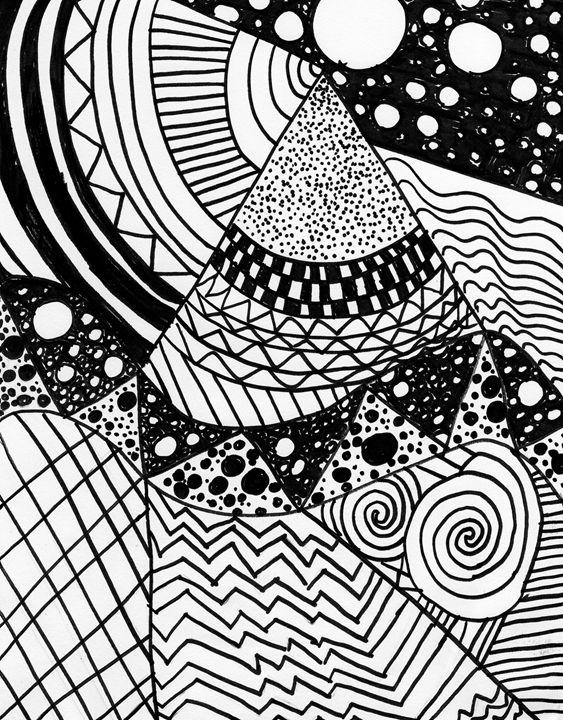 Zentangle Design - Alicia Counter