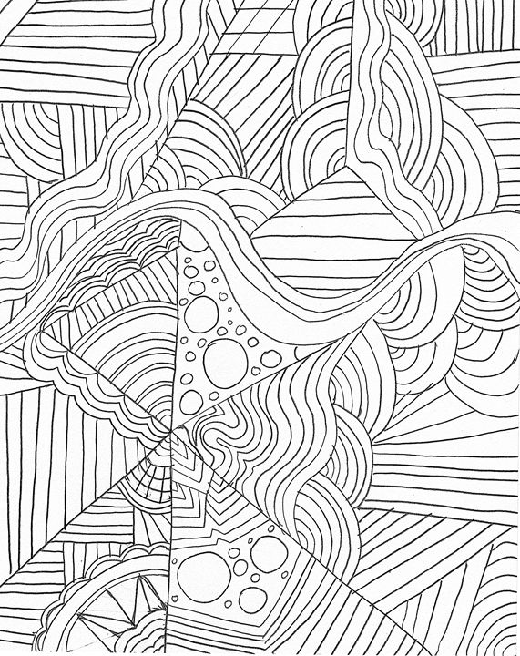 Zentangle Design - Alicia Counter