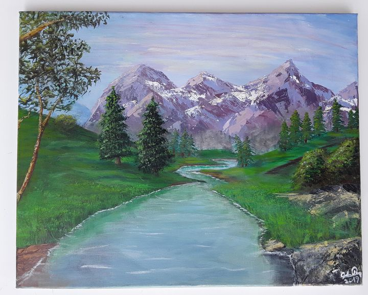Emerald Spring - Josiah Ray Scenic Art