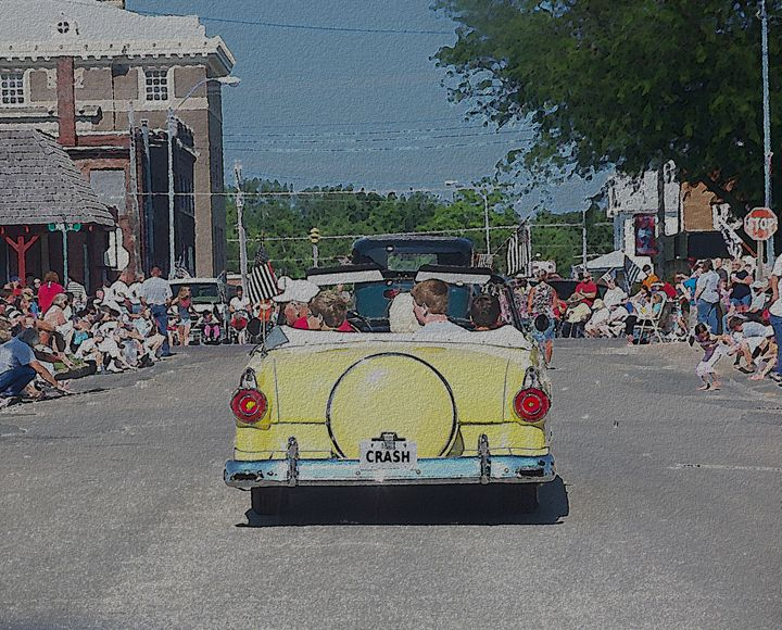 Riding in the Parade - Randy