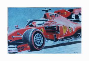Sebastian Vettel Ferrari 2020