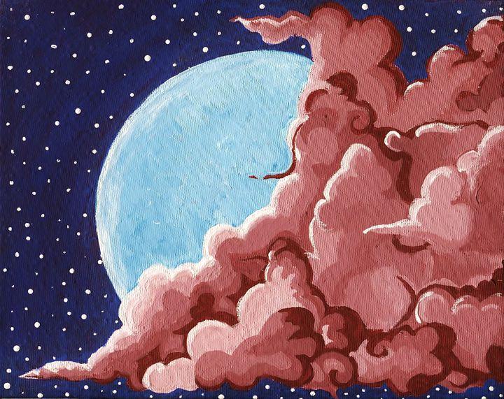 Overtaking the Moon - ImagineCalmArtique