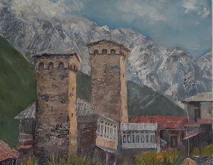 Svaneti. Part of Georgia.