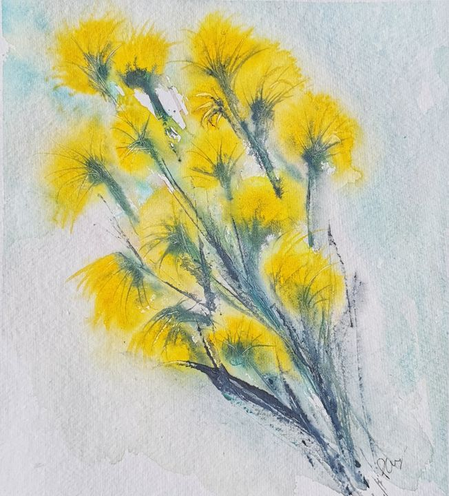 Lawn flowers - Peter Manns