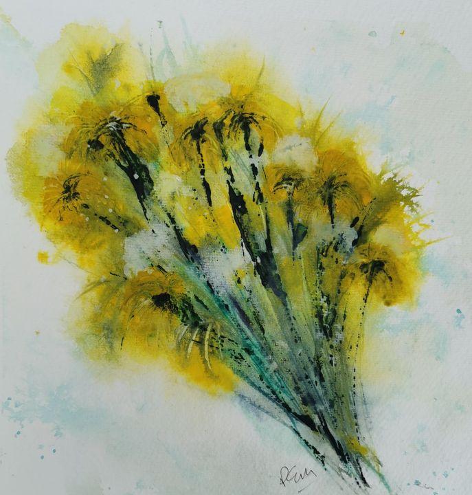 Lawn flowers 2 - Peter Manns