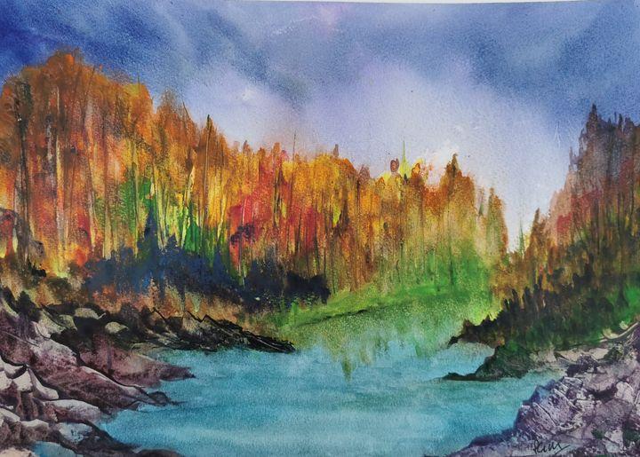 Autumn creek - Peter Manns
