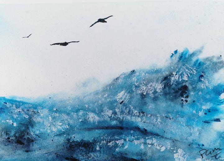 """""""Just gliding"""" - Peter Manns"""