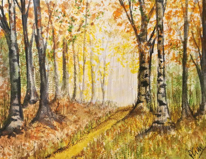 Autumn walk - Peter Manns