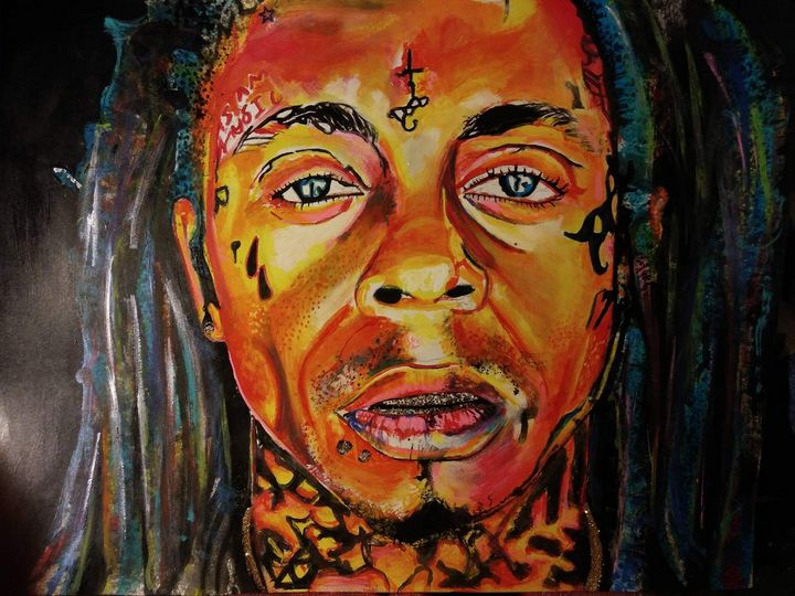 Weezyana - Paintings by Kendall Carter