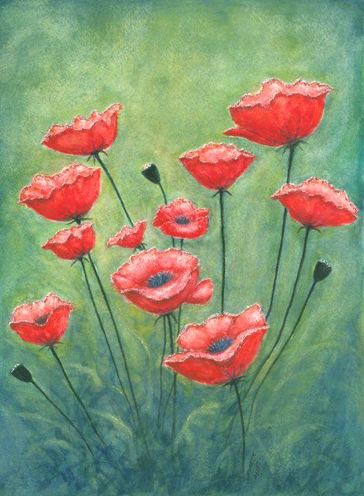 Poppies Field - Judith Monette