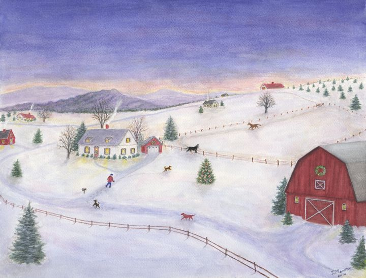 Winter Outing - Judith Monette