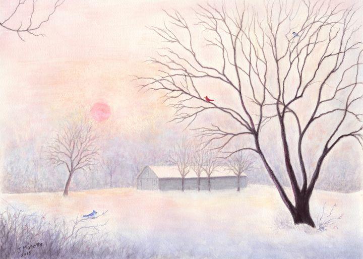 Winter Dawn - Judith Monette